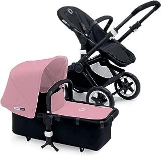 Bugaboo Buffalo Black Frame Stroller (Soft Pink)