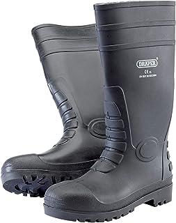 Nero Colore Draper 15064 Lacci di Ricambio per Stivali di Sicurezza COMSB e CHSB