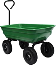 Garden Star 70275 Garden Wagon/Yard Cart with Flat Free Tires, 37