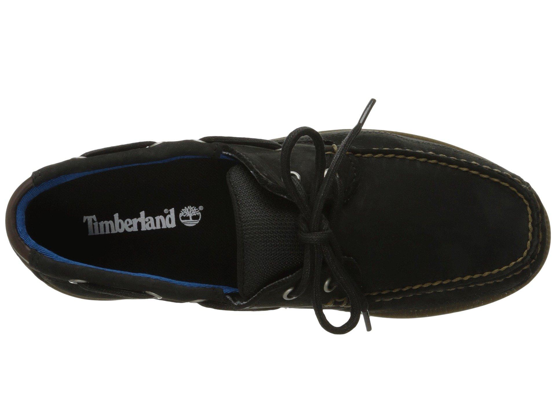 Black Nubuck Boat Leather Shoe Piper Cove Timberland wnAqHvgq