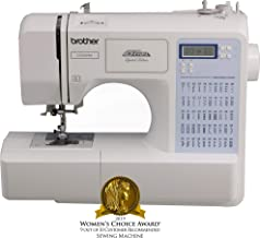 Brother Project Runway CS5055PRW Electric Sewing Machine - 50 Built-In Stitches - Automatic Threading (Renewed)