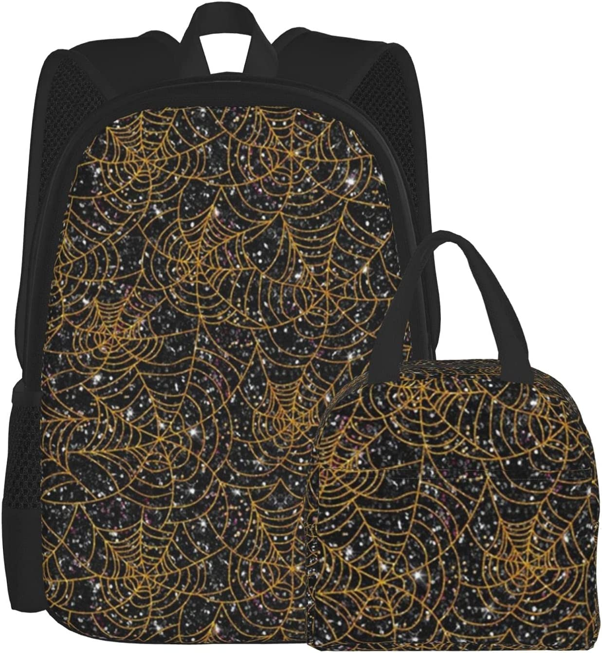 Lunch Bag And Backpack Combination latest Spider Web Pack Orange Surprise price Black