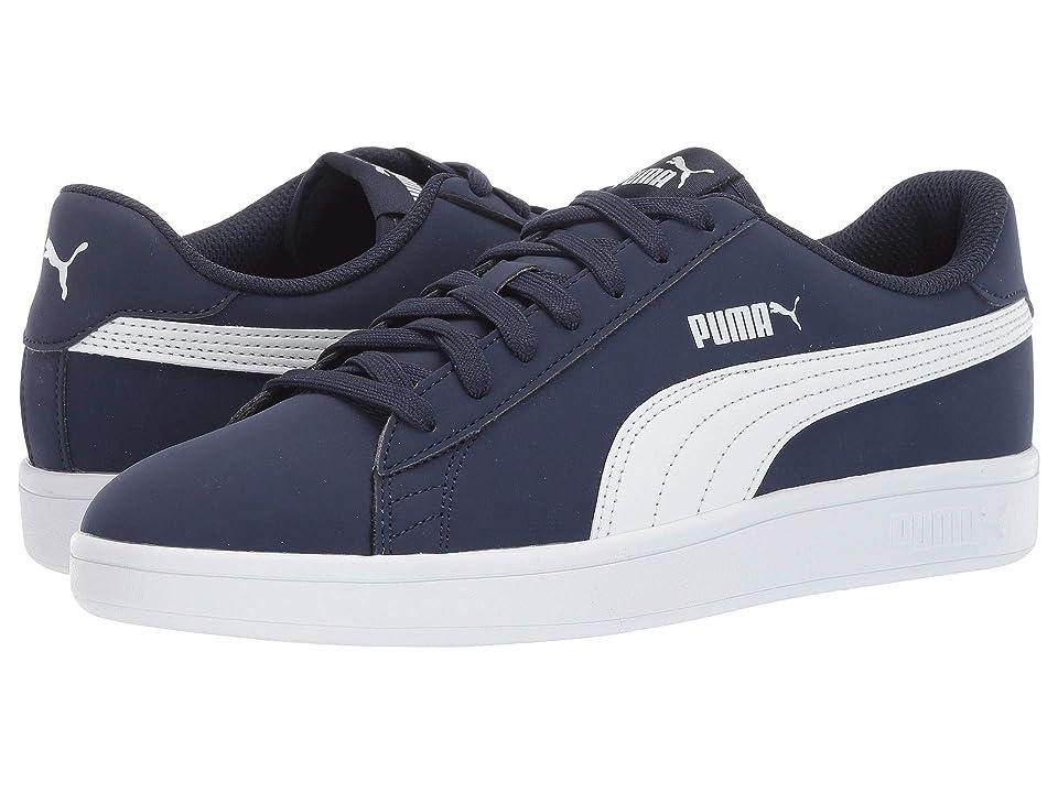 PUMA Puma Smash V2 Buck (PeacoatPuma White) Men's Shoes