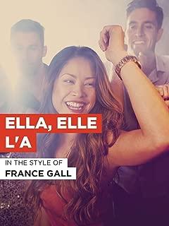 Ella, elle l'a