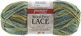 Premier Yarns 95-211 Free Lace Wool Yarn, Parrot