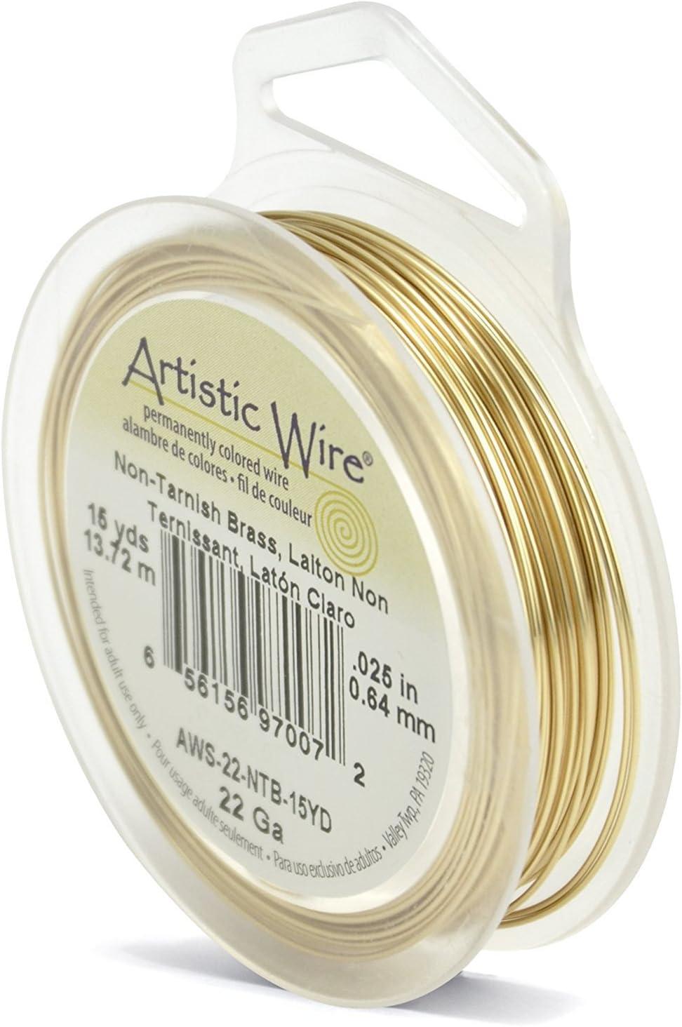 Artistic Wire\u00ae Buy-The-Dozen\u2122 22 Gauge Variety Pack Jewelry Coil Making Wire BDC-860.22