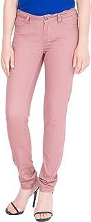 American-Elm Light Brown Women's Jeans