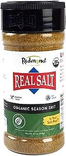 Redmond Real Sea Salt - Natural Unrefined Organic Gluten Free, Seasoning 4.75 Ounce Shaker (2 Pack)