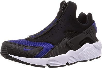 Amazon.com | Nike Air Huarache Run EXT Zip Black/Regency Purple ...