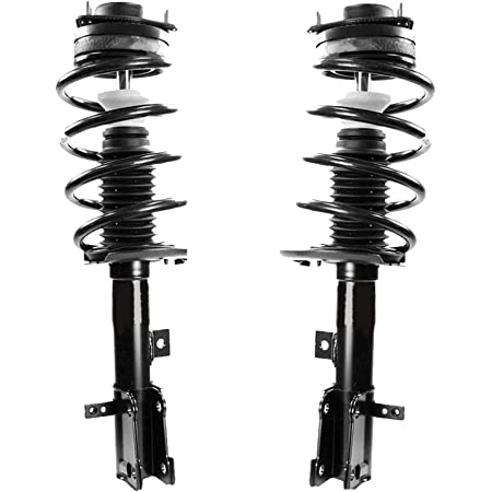 Front Premium Quality Suspension Strut and Coil Spring Assemblies - One Year Warranty 2009 for Dodge Journey for Both Left and Right Sides NOTE: 3.5 Liter Engine Only