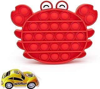 Push Up Fidget Toy Pop It Fidget Toy Autism Chew Toys Sensory Push Bubble Fidget Sensory Toy Autism Special Needs Stress R...