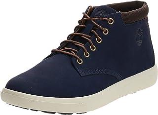 حذاء تشوكا من الجلد اشوود بارك للرجال من تيمبرلاند، مقاس 45 EU، لون ازرق داكن, (أزرق (أزرق)), 8 UK
