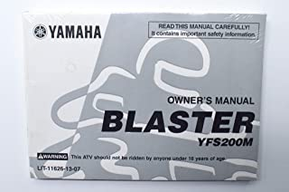 Best yamaha blaster owners manual Reviews