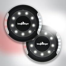 Bergsteiger Kinderwagenlicht, Buggylicht, 2 Kinderwagenlichter Set inkl. Batterien, 16 LED pro Licht, wasserdicht, passend für alle Kinderwagen, Bergsteiger Kinderwagen-Zubehör