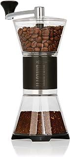 Bialetti Manual Adjustable Coffee Grinder, One Size, Black