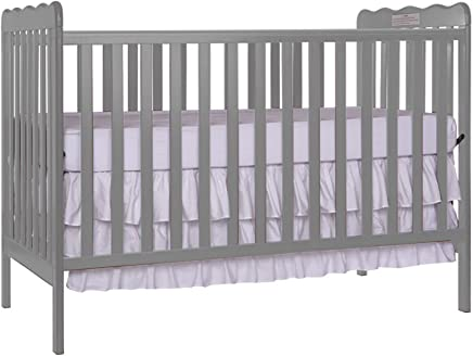 featured product Furniture World Chelsea Crib with Toddler Gate,  Gray