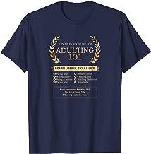 Shirt.Woot: Adulting 101 T-Shirt