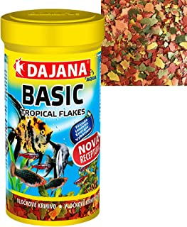 DAJANA BASIC FLAKES, 500ML - Complete flake food for all types of fish