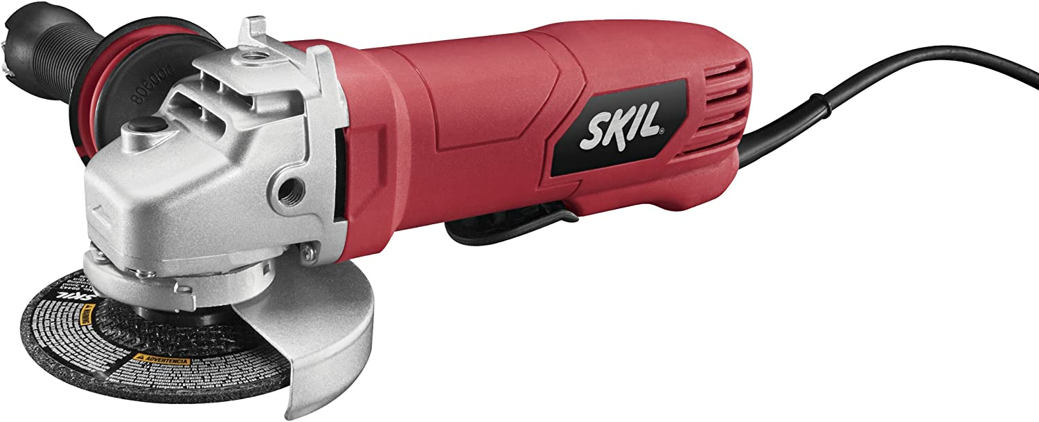 Skil 9296-01 7.5-Amp 4-1/2-Inch Paddle Switch Angle Grinder