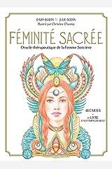 Féminité sacrée. Oracle thérapeutique de la Femme Sorcière. 48 cartes oracle + le livre d'accompagnement Broché