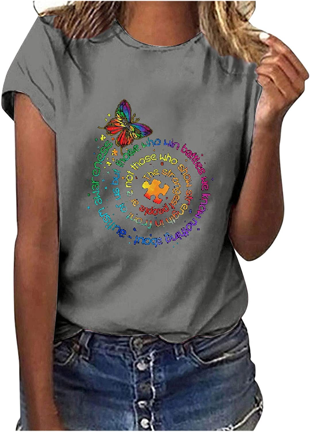 Women Blouses and Tops Fashion for Size Discount mail order Work Prin Sunflower Year-end gift Plus