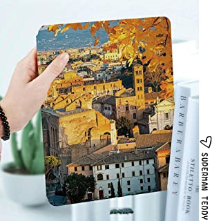Case for Apple iPad Mini 4,Smart Cover with Auto Sleep/Wake,Not Compatible with Mini 5th Generation 2019,Italy,Colosseum in Rome Amphitheater Ancient Historical Architecture Evening Decorative