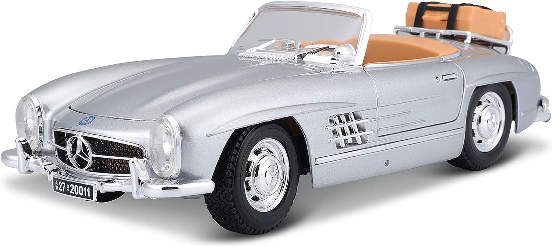 Bburago 12049r Mercedes Benz 300 Sl Touring 1957 Rot 1 18 Spielzeug