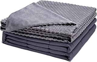 Kpblis Weighted Blanket with Cover 15 lbs 48