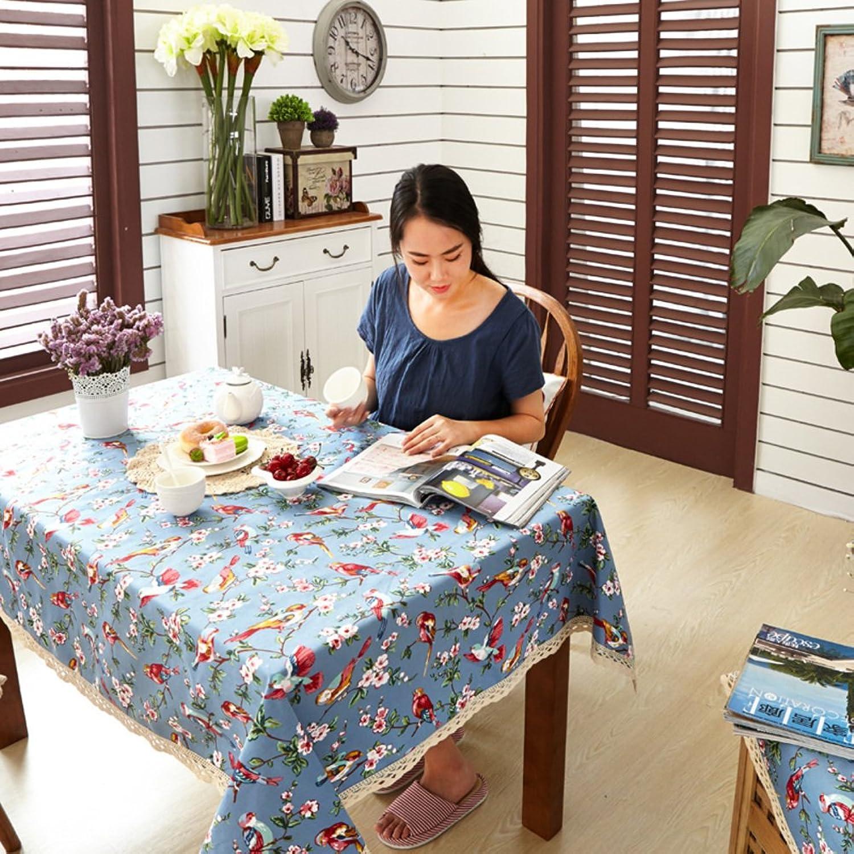 Pastoral Tuch Tischdecken Tischdecken Coffee Table  das Tischtuch Tischdecken-J 150x220cm(59x87inch)