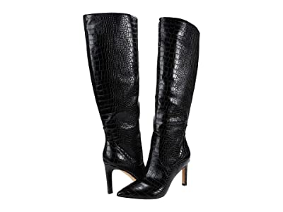 Nine West Maxim Knee High Boot (Black 1) Women