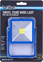 Brillar BR0038-NAVY BR0038-NAVY Swivel Stand Work Light with COB LED Technology Portable Light Adjustable Stand 360 Degree...