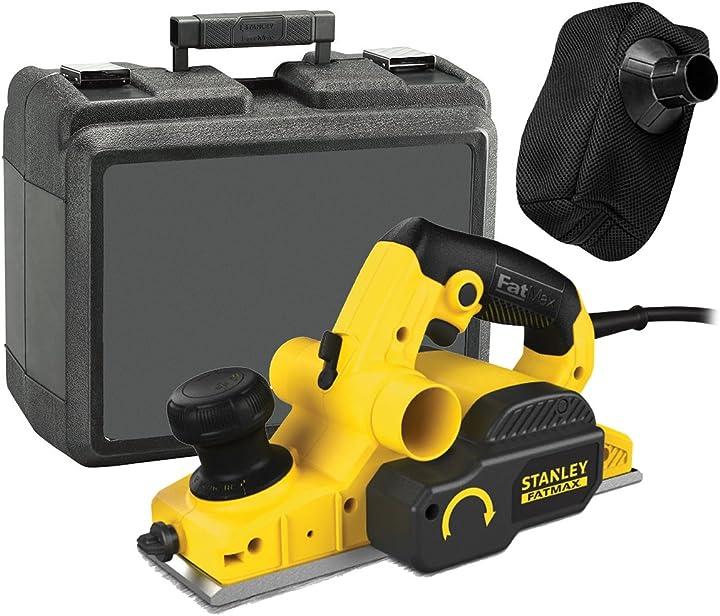 Piallatrice stanley fme630k-qs cepillo eléctrico 750w FME630K-QS