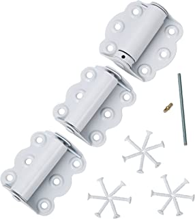 Ideal Security SK920 Hinge Set for Screen Doors, White