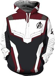 a8c1114567cc5e Cosplay Hooded Sweatshirt Superhero Clothing Unisex Adult