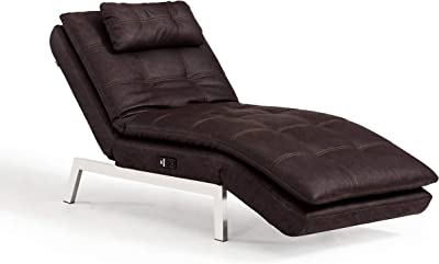Amazon.com: US Pride Furniture Modern Faux Leather ...