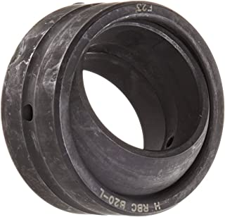 RBC Bearings B20L Radial Unsealed Spherical Plain Bearing, 52100 Bearing Quality Steel, Inch, 1.25