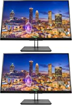 HP Z27n G2 27 Inch IPS LED Backlit Monitor 2-Pack, QHD 2560 x 1440 (1JS10A8#ABA)