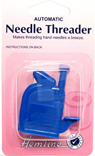 Automatic Needle Threader Hemline Needle Threader for Sewing or Stitching x 1 New