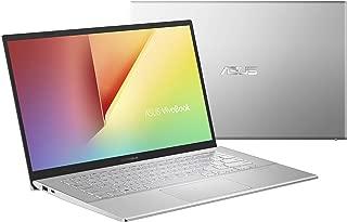 Asus Vivobook 14 X420UA-BV143T Laptop (Silver) - Intel i3-7020U 2.30 GHz, 4 GB RAM, 128 GB SSD, Intel UHD Shared, 14 Inches LED, Windows 10, Eng-Arb-KB