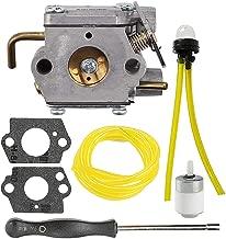 Mckin 753-04333 725r 720r Carburetor fits Ryobi 775r 410r 280r 790r 700r 767r 310bvr rgbv3100 Trimmer Blower 791-182875 with Fuel Line Repower Kit