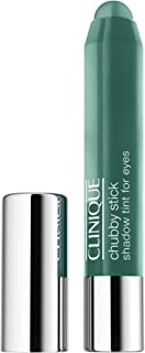 CLINIQUE CHUBBY STICK EYE SHADOW 0.10 OZ TWO TON TEAL CLINIQUE/CHUBBY STICK SHADOW TINT FOR EYES 13 TWO TON TEAL .10 OZ