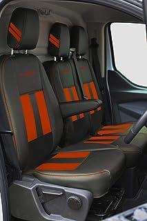passager avant simple Noir Town /& Country Housse de si/ège avant imperm/éable pour Ford Transit Custom et Ford Transit Van