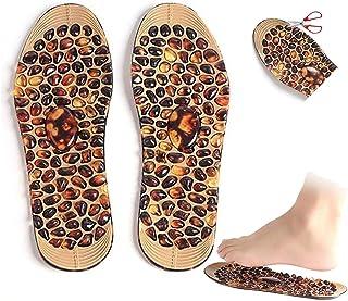 MNBVH Plantillas Magneticas Acupresion, Plantillas de Masajes Pies Transpirable, 3D Feet Plantillas Ortopedicas para Fasci...
