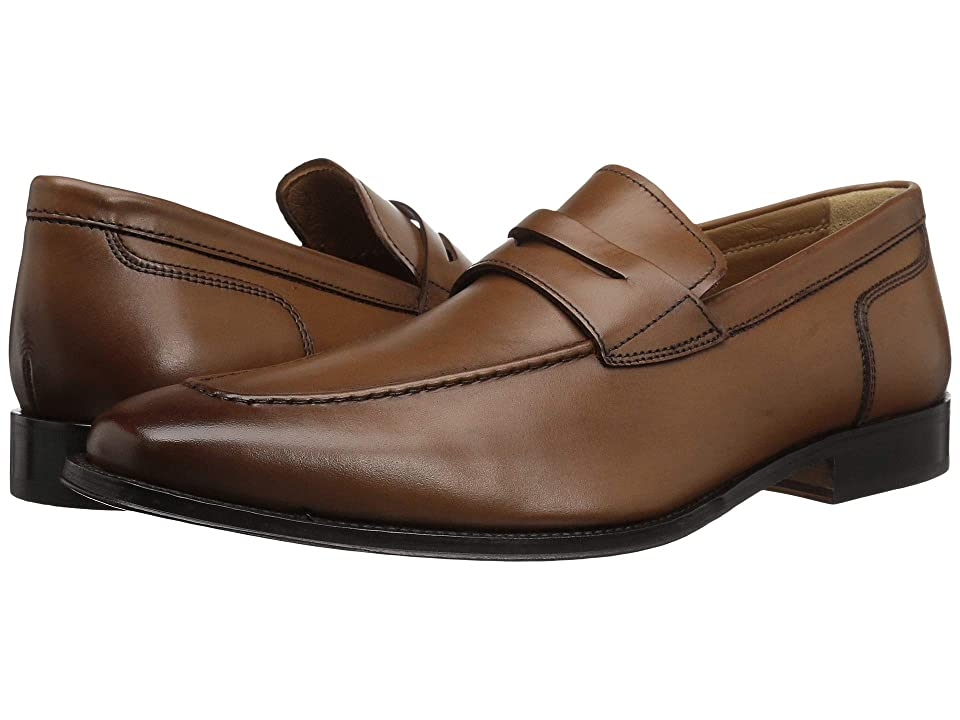 Florsheim Classico Penny Slip-On (Cognac Smooth) Men