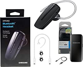 Samsung HM1350 Bluetooth Headset - Samsung Power Sharing Cable & Battery Kit (Retail Packing)
