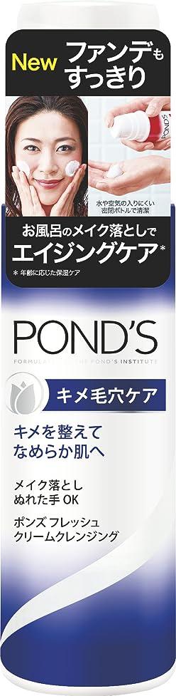 ギャラントリー明確な分類ポンズ フレッシュ クリームクレンジング キメ毛穴ケア 136g