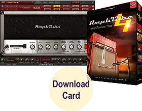 $189 » IK Multimedia AmpliTube 4 for Windows and Mac – Virtual Guitar and Bass Tone Studio Software (Download Card)