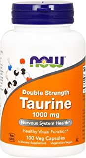 NOW Foods by Now Double Strength Taurine Nervous System Health 1000mg 100 Capsul