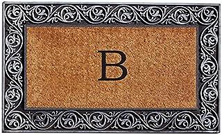 Home & More 10002SILVB Prestige Silver Monogram Doormat (Letter B)