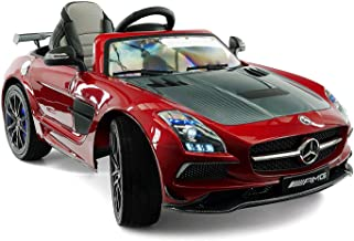 LICENSED MERCEDES SLS AMG FINAL EDITION 12V Kids Ride-On Car MP3+MP4 Color LCD Battery Powered RC Parental Remote + 5 Poin...